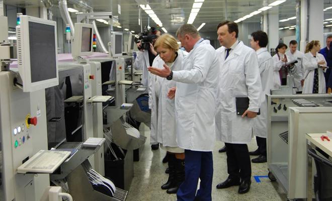ЗАО «ПЕГАС» посетила Заместитель Председателя Правительства РФ.
